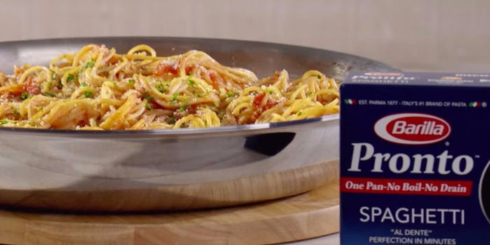Barilla's New Pasta Eliminates Step No. 1: Boiling the Water