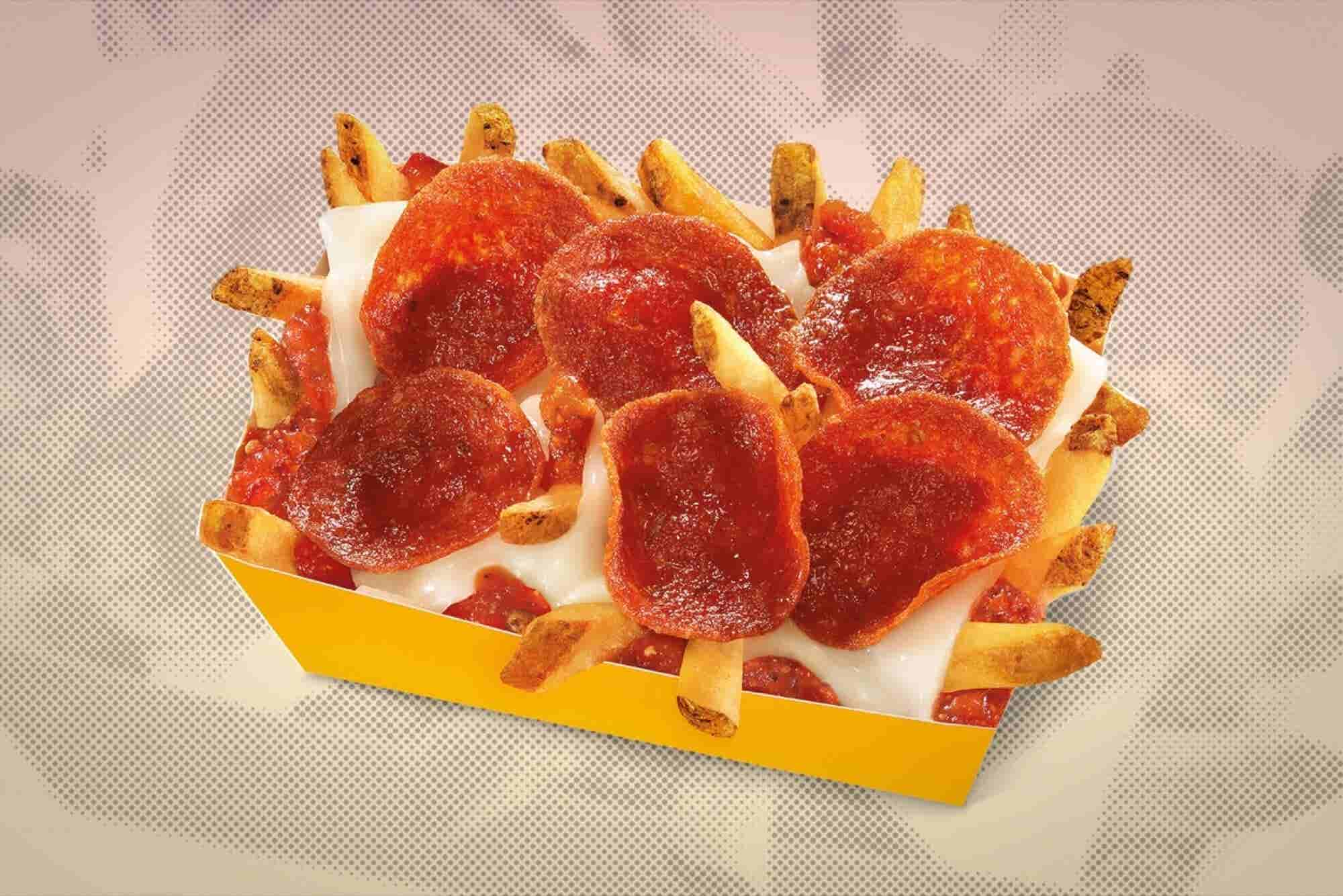 Carl's Jr. Tests Pepperoni Pizza Fries, Which Are Exactly What They Sound Like