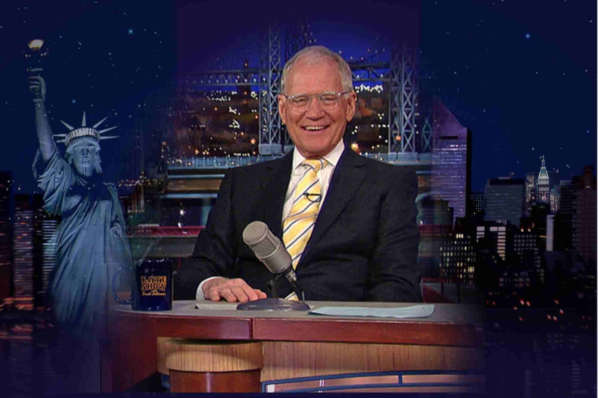 Letterman's Late Show Legacy for Email Marketers: The Subject Line