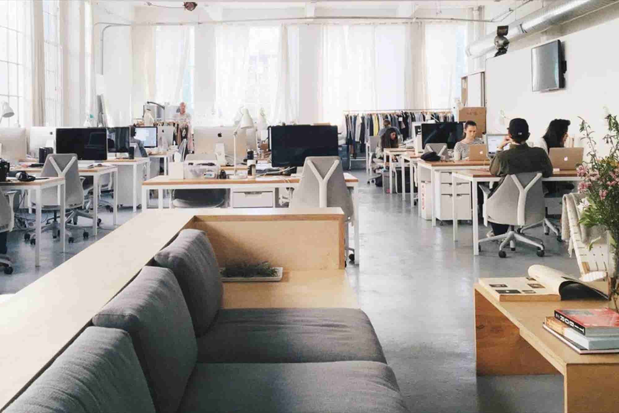 Corporate Culture Redefined: The 'See-Through' Office