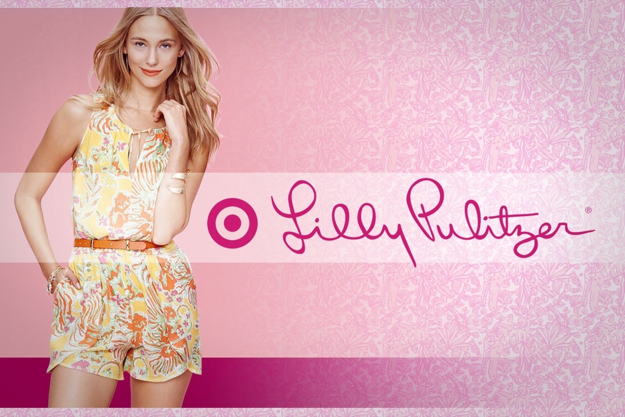 To acquire Target partners with Lilly Pulitzer picture trends