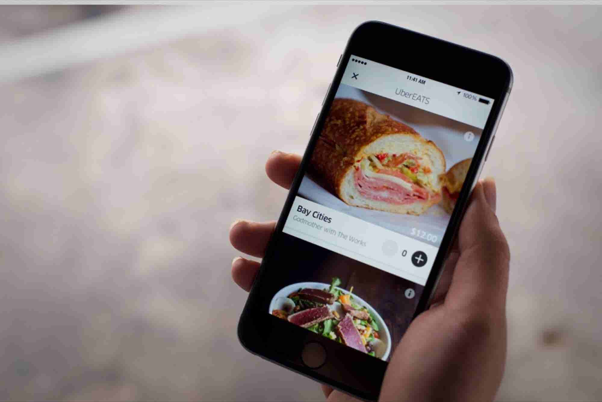 Uber Expands Its UberEATS App