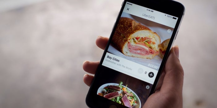 From Rides to Eats, Uber Launches New Food-Delivery Service
