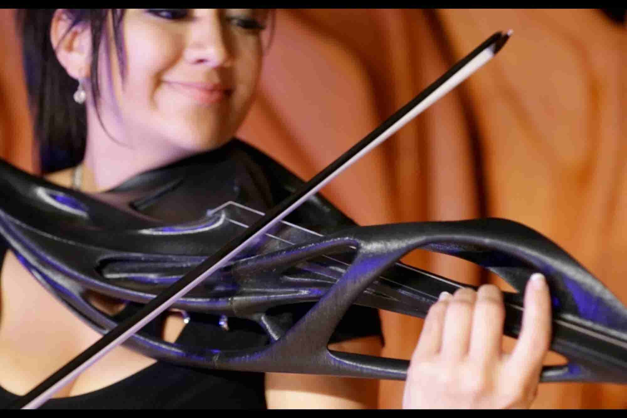 3-D Printed Violins and Guitars Push the Boundaries of Art and Tech