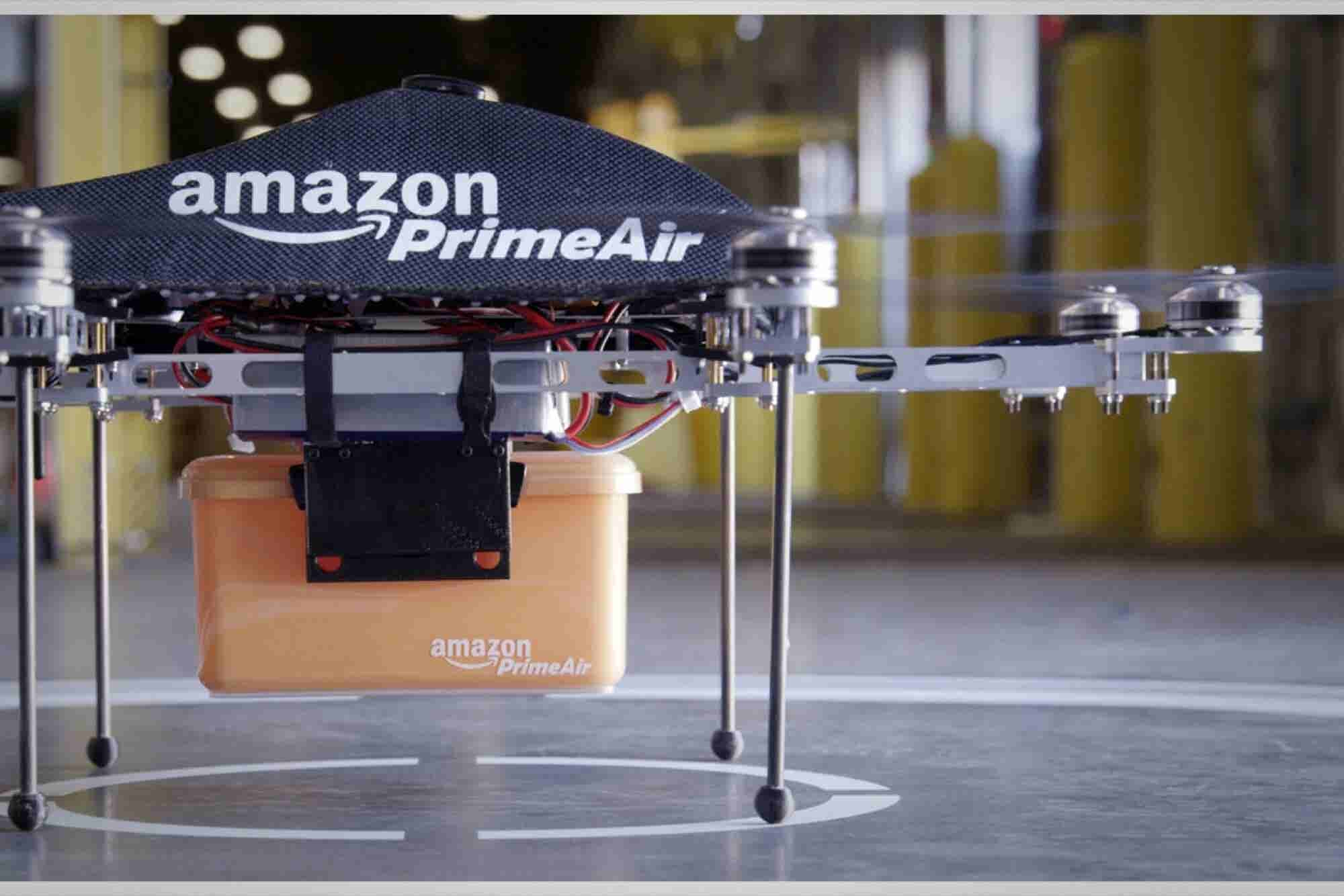 Amazon Insists Federal Rules Apply to U.S. Deliveries by Drone