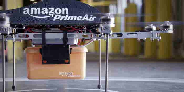 Heads Up: Amazon Wants Delivery Drones to Find You Wherever You Are