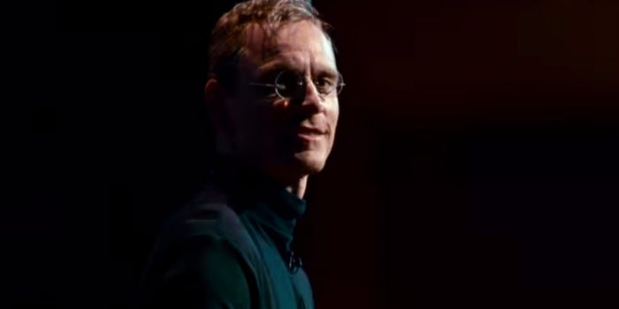 Watch Michael Fassbender in the First Steve Jobs Trailer, Iconic Black Turtleneck and All