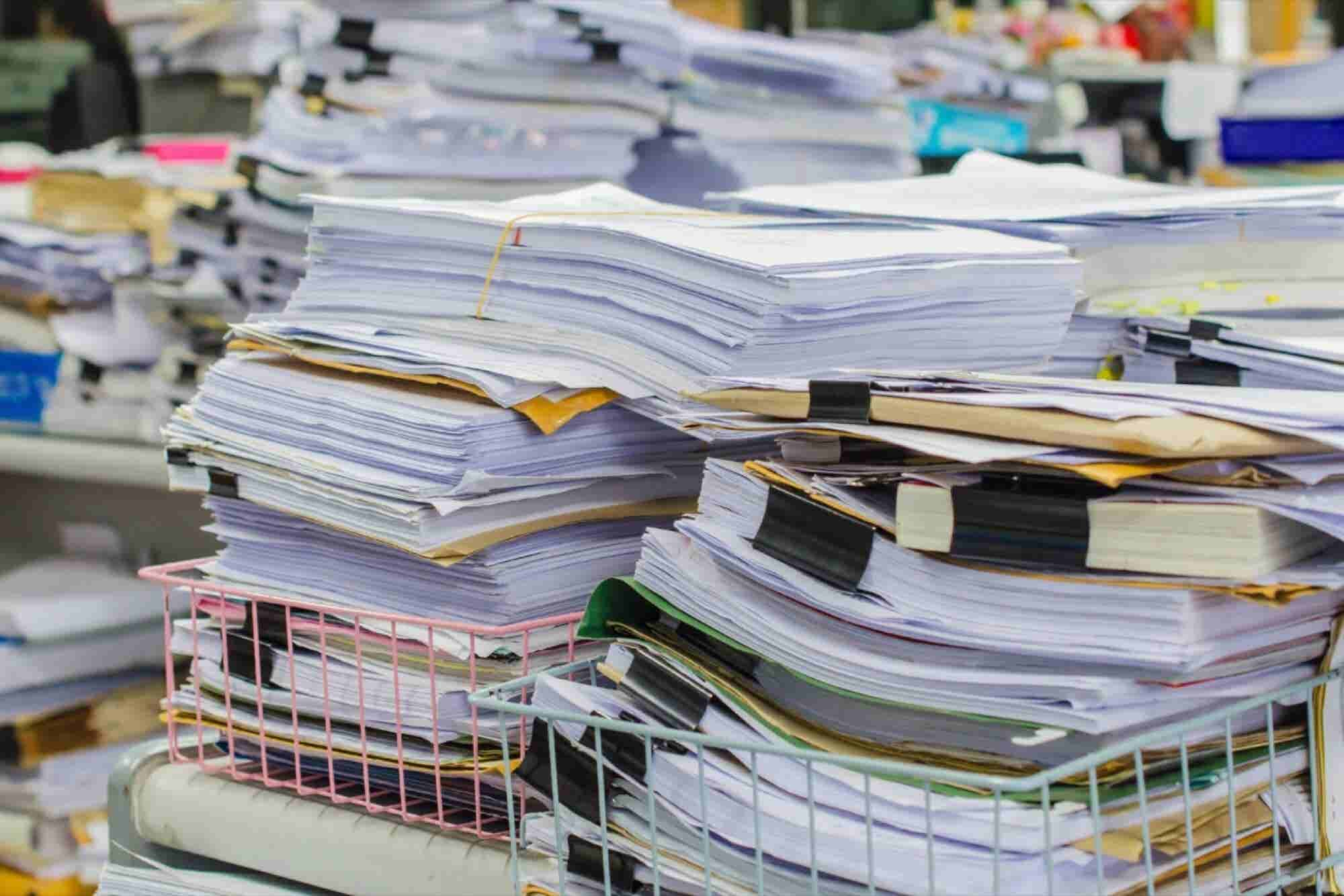 Boost Productivity With These 4 Tips for a Paperless Workplace