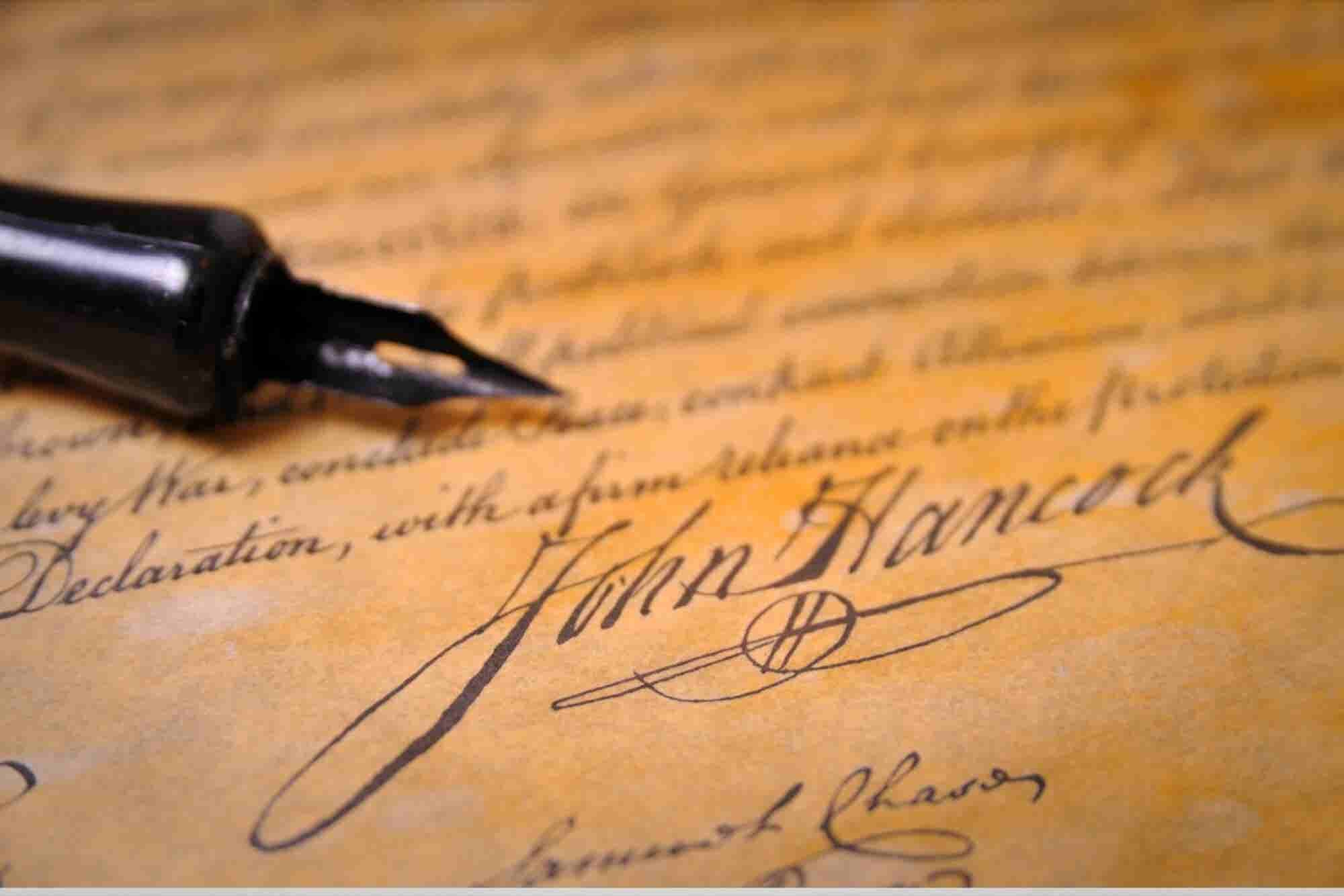 Will the Art of the Signature Be Lost in the Digital Age?
