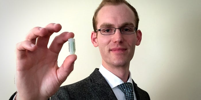 This MIT Grad Is Changing Medicine With a Needle-Covered Pill
