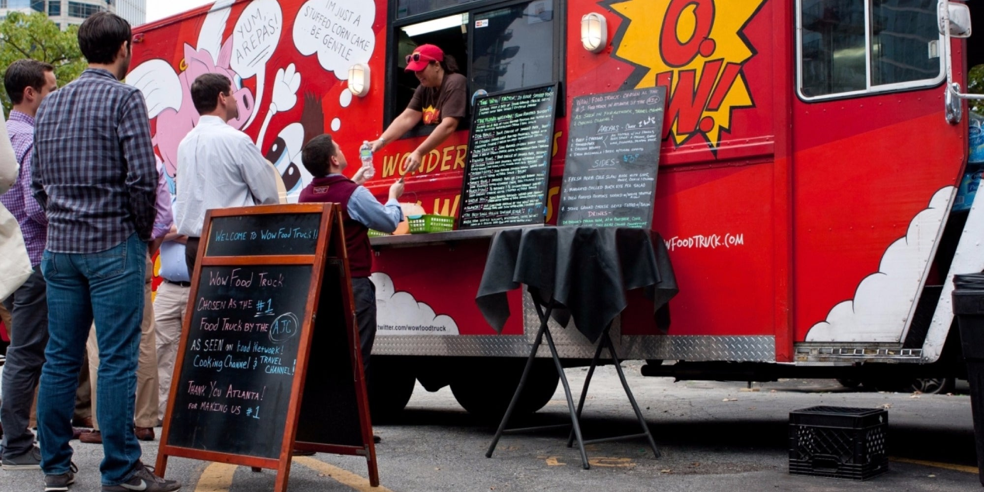 Take over a mobile food truck
