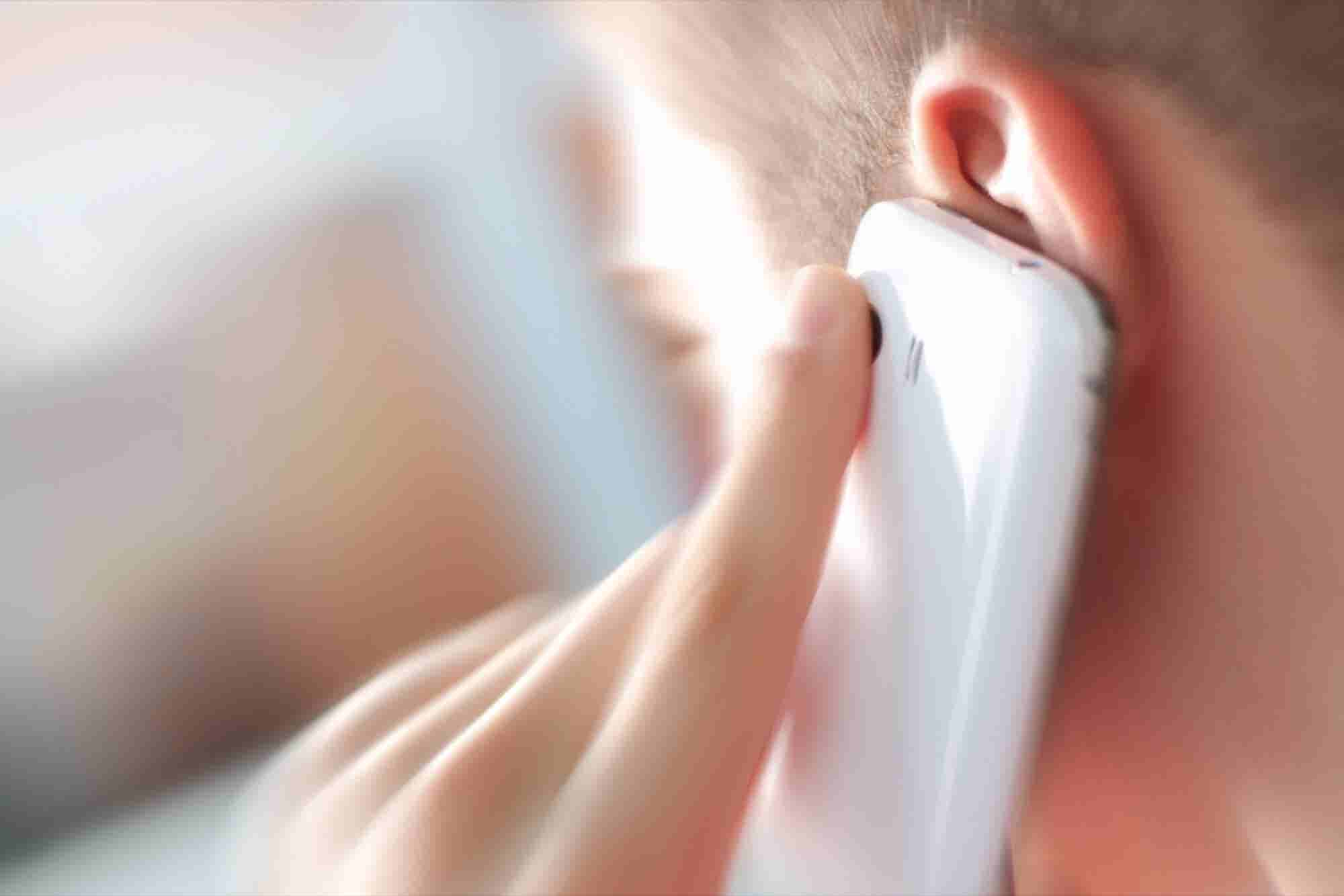 Amazon Invents an Ear-Scanning Smartphone