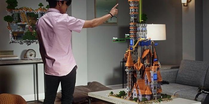 Watch Microsoft's Eye-Popping Hololens Demo Using Minecraft