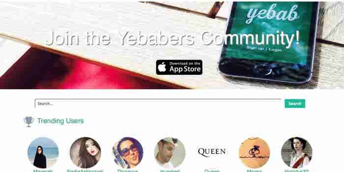 Yebab Puts Photos At The Forefront