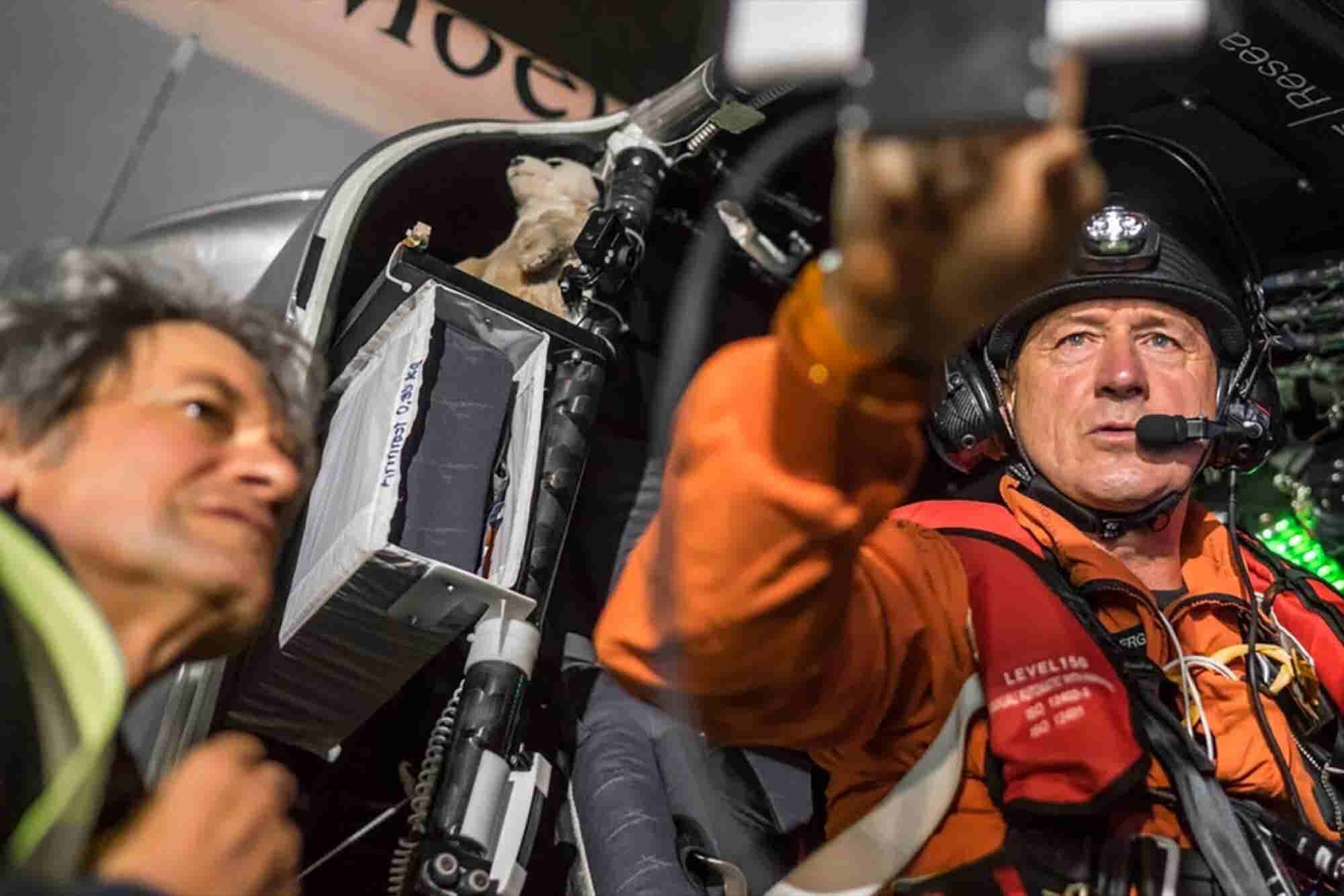 Explorer Attempts Longest Solo Trip in a Solar-Powered Aircraft