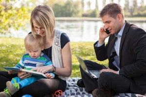 The Key to Achieving Work-Life Balance for Parents? Accepting It's a Myth.