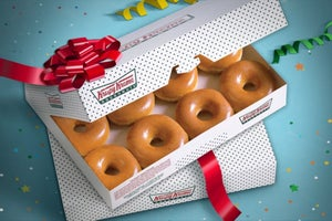 Here's How You Can Get a Dozen Krispy Kreme Doughnuts for 78 Cents
