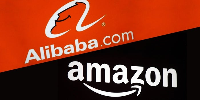 By the Numbers: Amazon vs  Alibaba (Infographic)