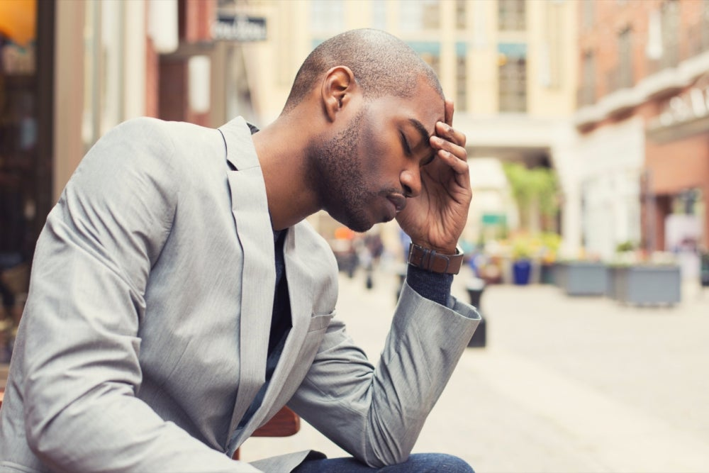 Don't ignore signs of stress