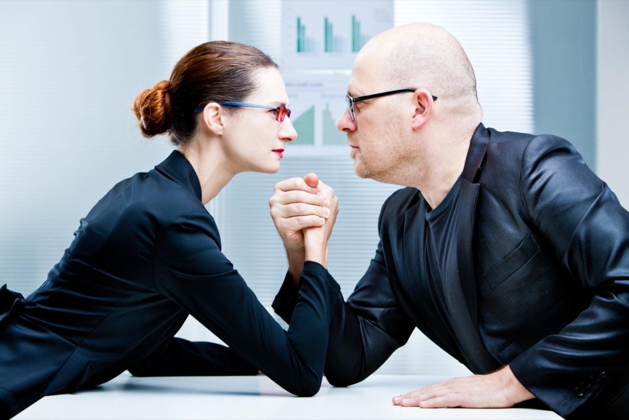 Handling conflict between two employees dating