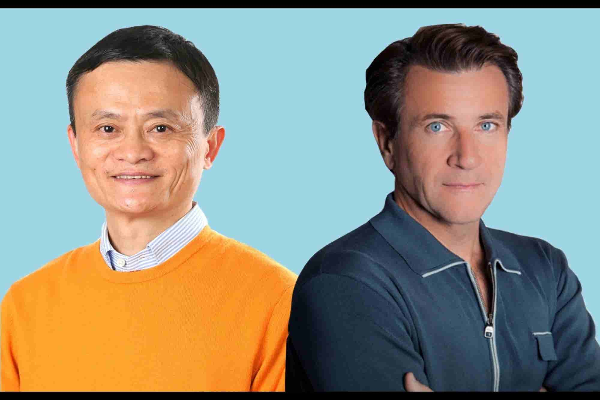 How Jack Ma and Robert Herjavec Confront Failure