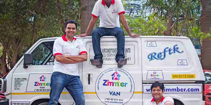 On-demand home services start-up Zimmber bags $2M from 4 top-notch VC firms