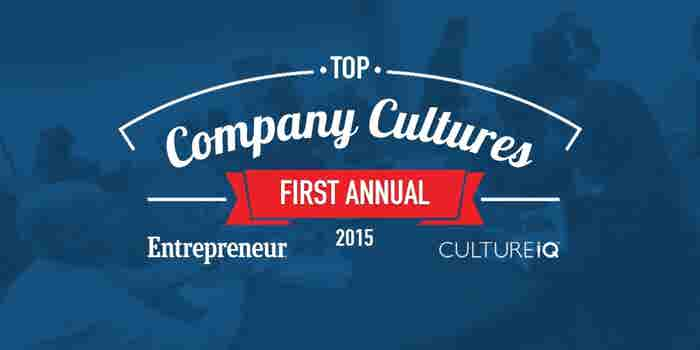 Entrepreneur and CultureIQ Are Searching for the Top Company Cultures
