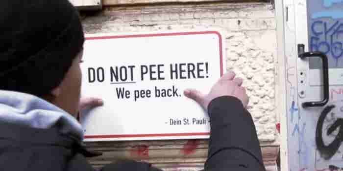 Warning: If You Pee on These Walls, They'll Pee Back at You