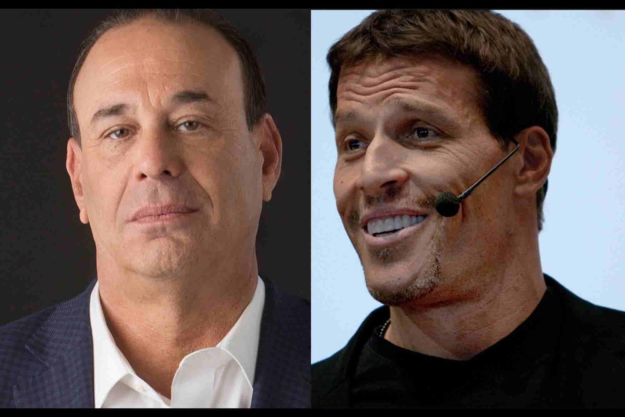 Develop a Winner's Mindset: Advice from Jon Taffer and Tony Robbins