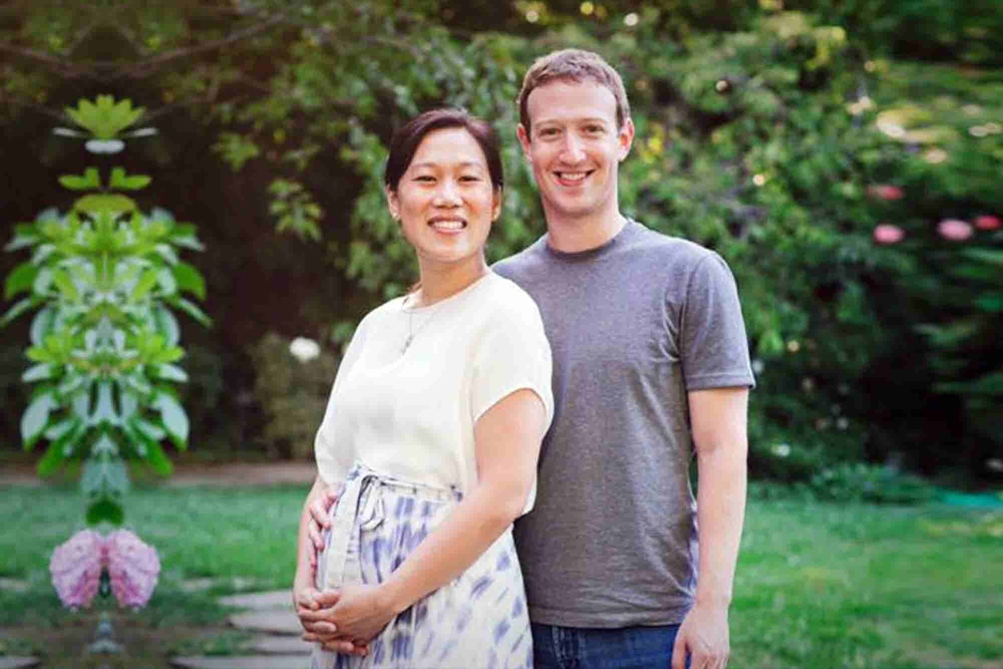 Mark Zuckerberg and His Wife Are Expecting a Baby Girl