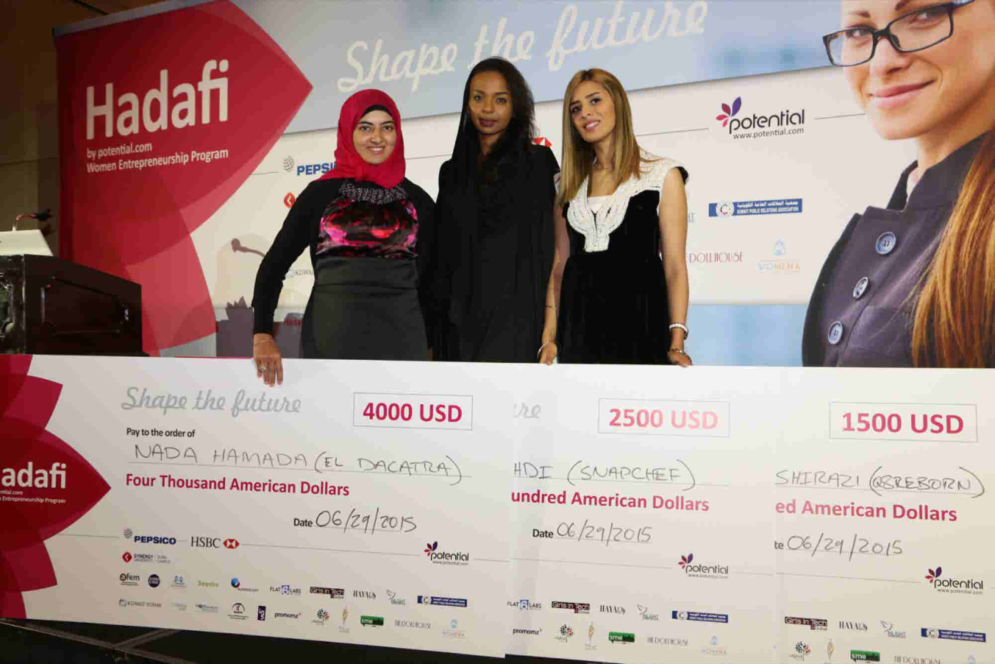 Pitch Perfect: Hadafi Awards Three New Entrepreneurs In Its Fourth Season