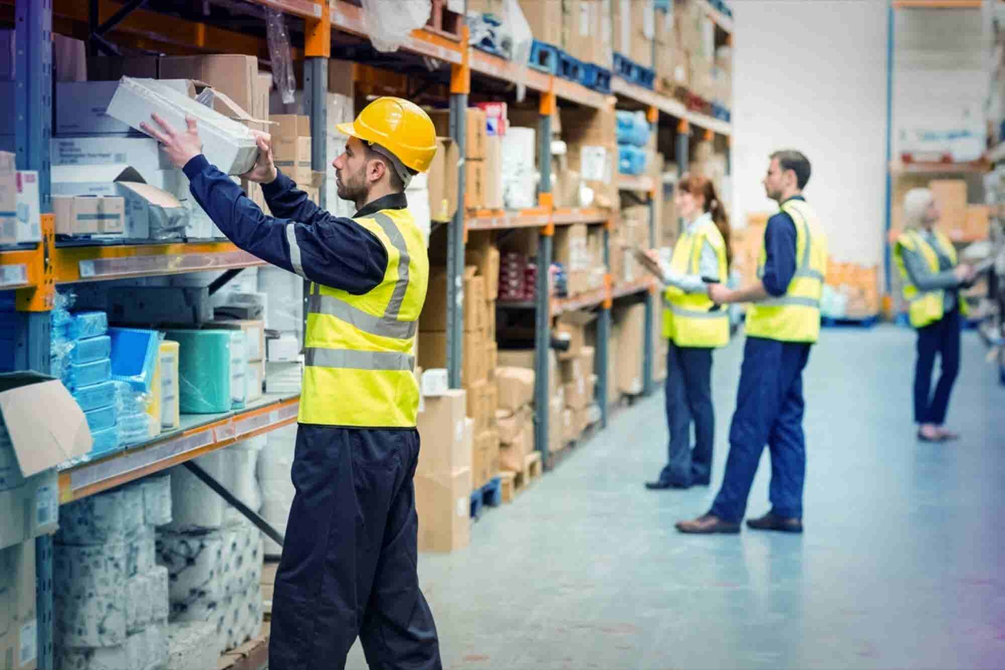 How can entrepreneurs effectively manage their business inventory?
