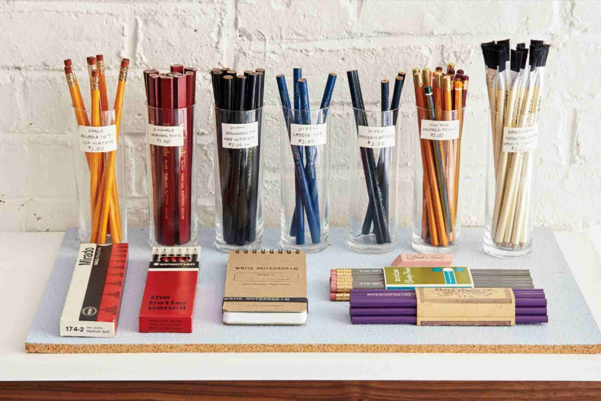 How a New York Storefront Points Out the Joy of the Pencil