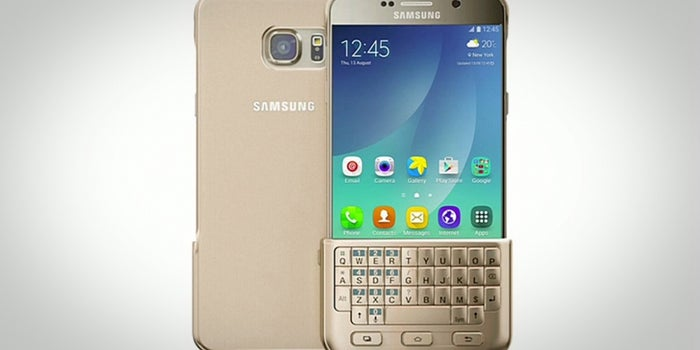 Samsung Unveils a Keyboard Cover for Its Latest Phones