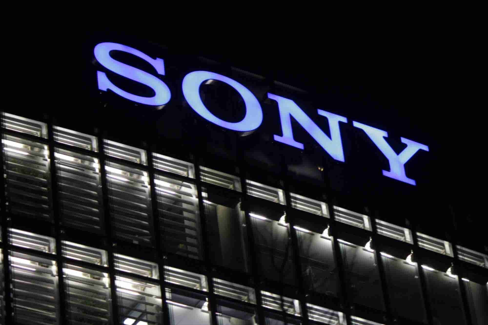 Sony Invests In U.S. Startup in Bid to Build Up AI as a Key Business Pillar