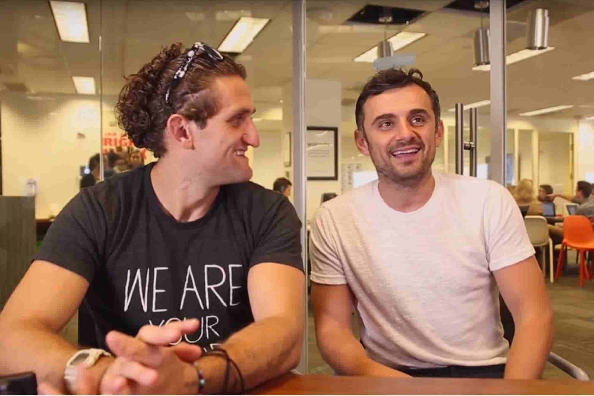 Watch Our Livestream of Gary Vaynerchuk and Casey Neistat Wednesday at 7 p.m. EST
