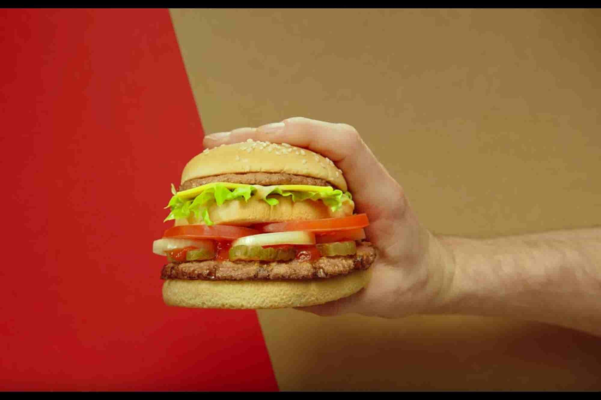 A McWhopper Proposal From Burger King Takes McDonald's by Surprise