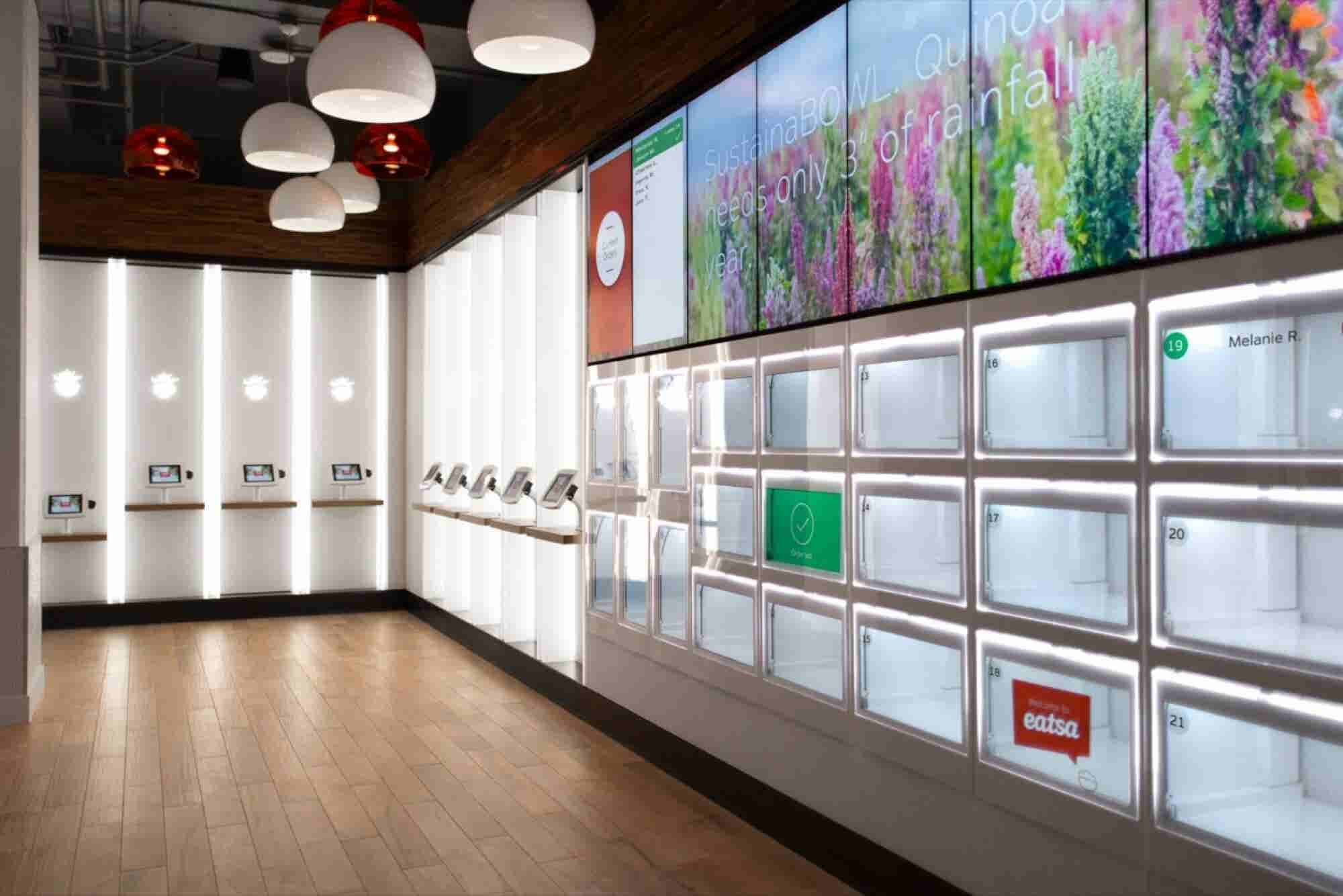 At This New Fast-Food Restaurant, Human Interaction Is Almost Zero
