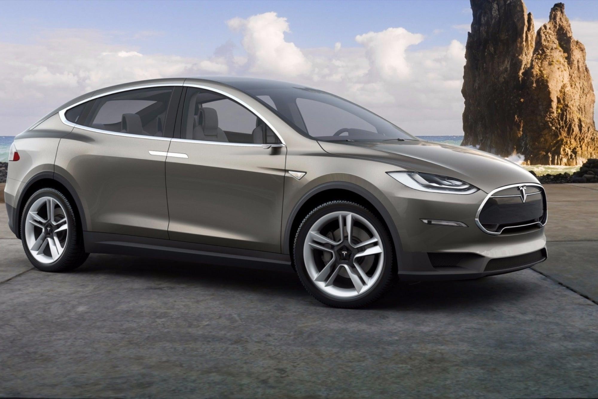 Tesla S New Model X Is A 132 000 Ludicrously Fast Beast