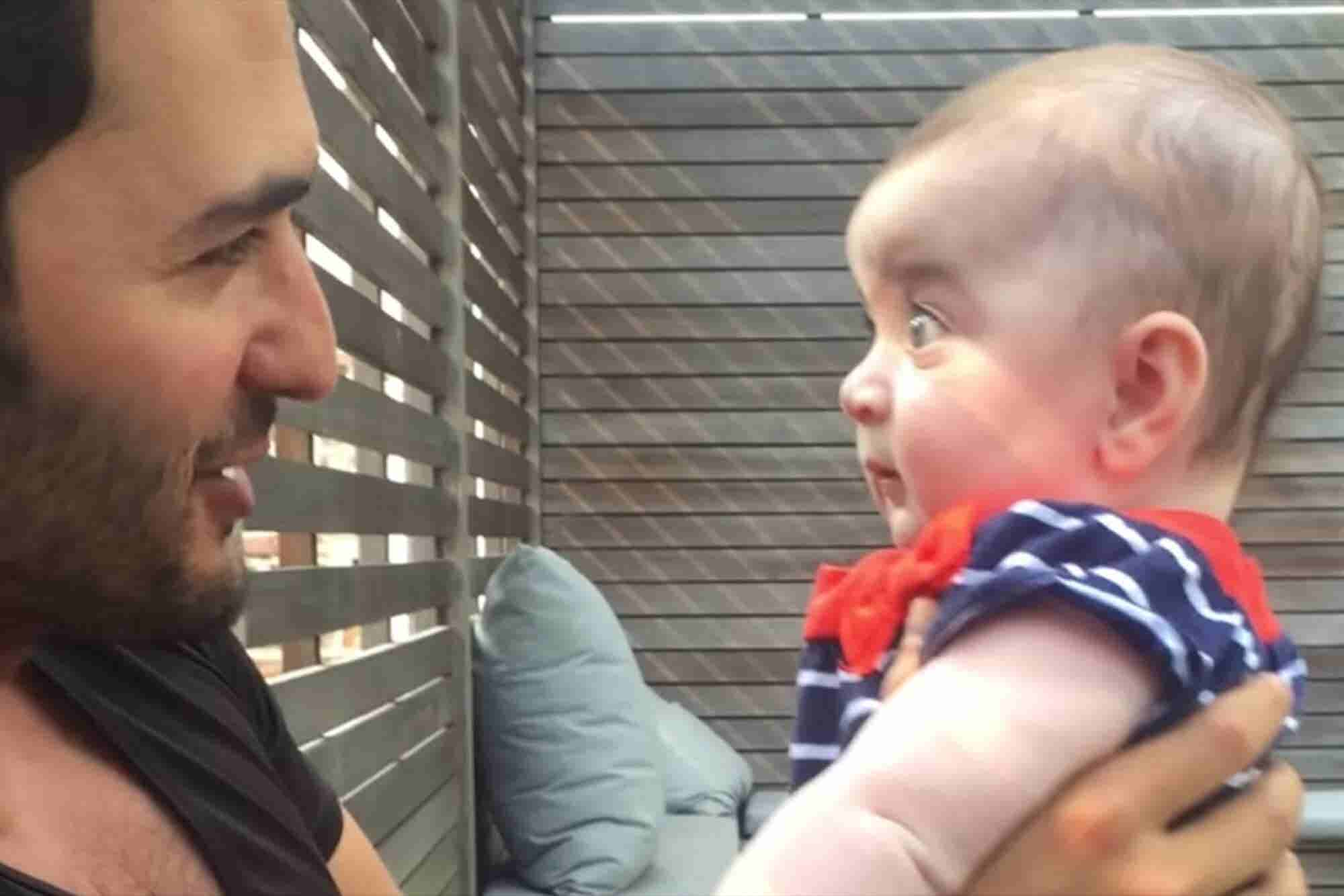 Futurist Talks to a Baby About the Meaning of Life and the Video Goes...