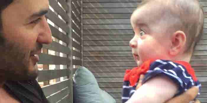Futurist Talks to a Baby About the Meaning of Life and the Video Goes Crazy Viral