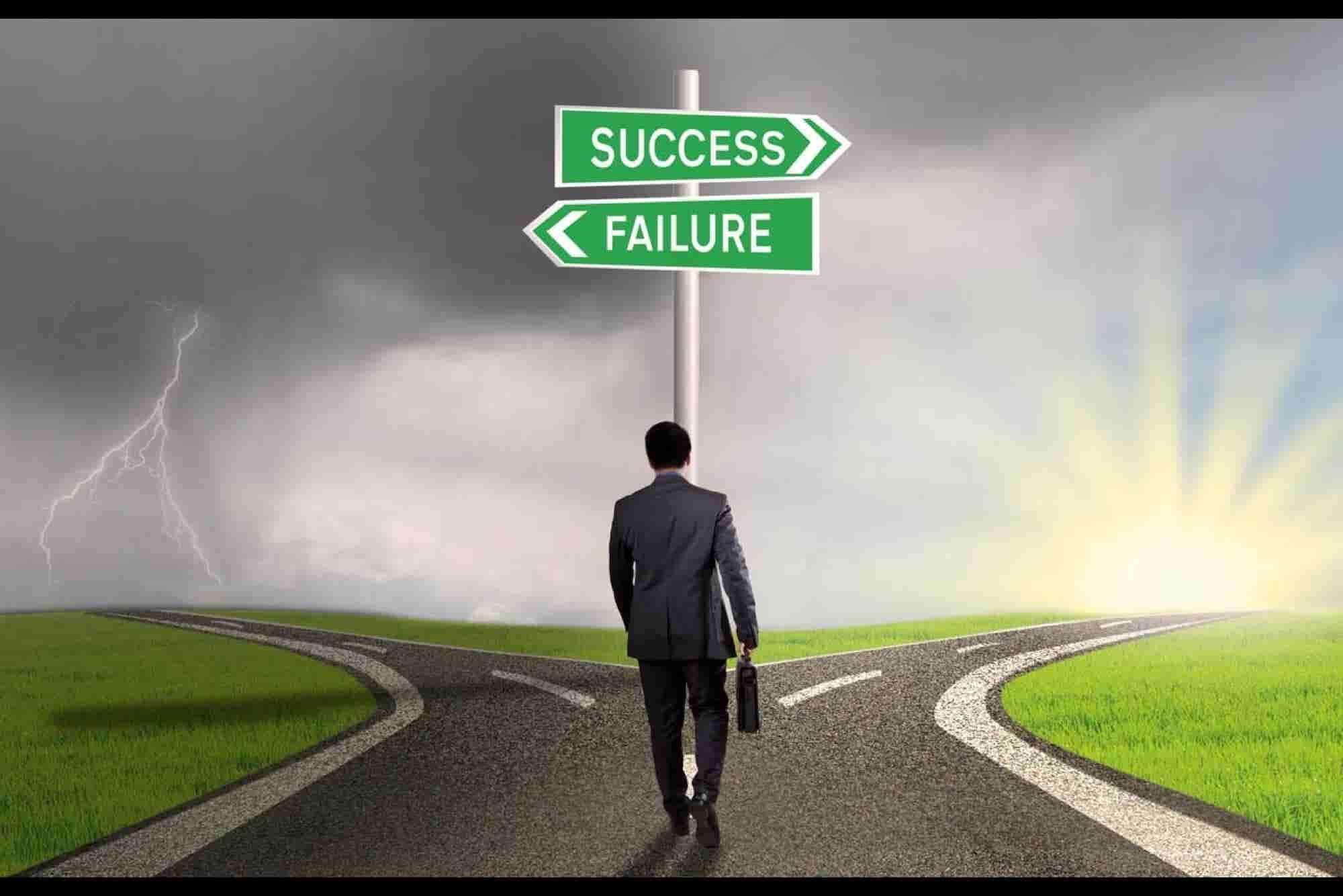 Don't detest failure, embrace it