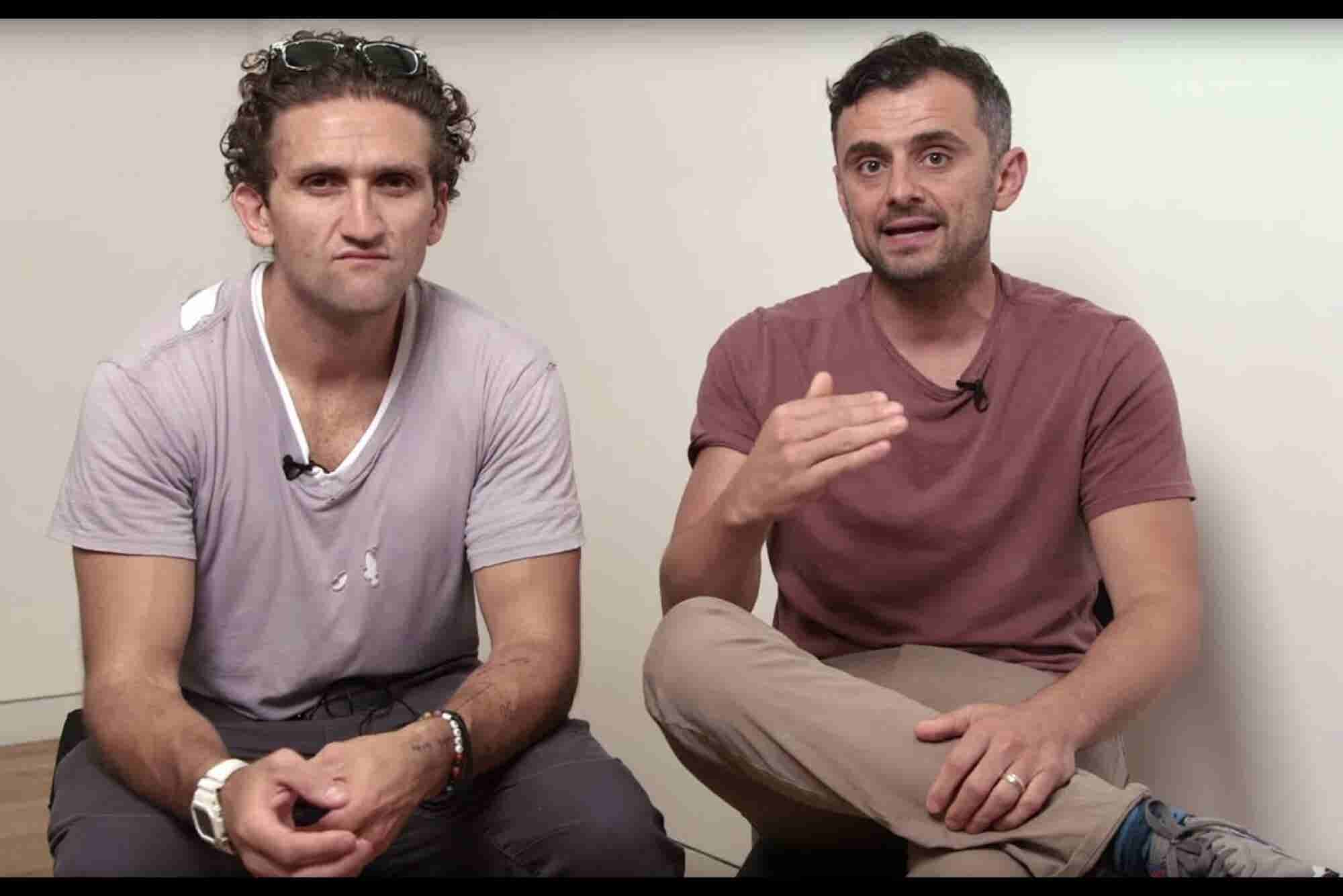 Entrepreneurs Should Stop Doing This, Say Casey Neistat and Gary Vayne...