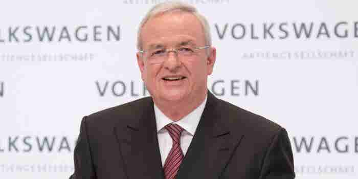 Martin Winterkorn Steps Down as Volkswagen CEO