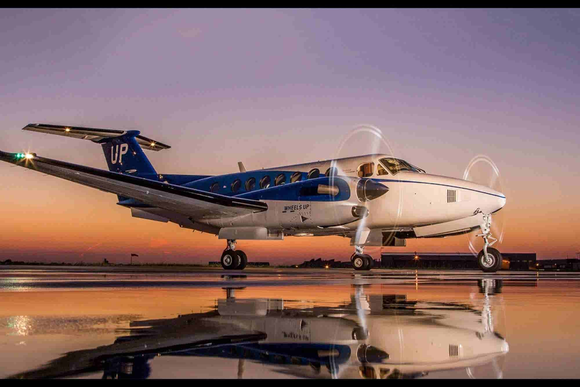 Private Aviation Company Wheels Up Raises $115M to Fuel App, Expansion