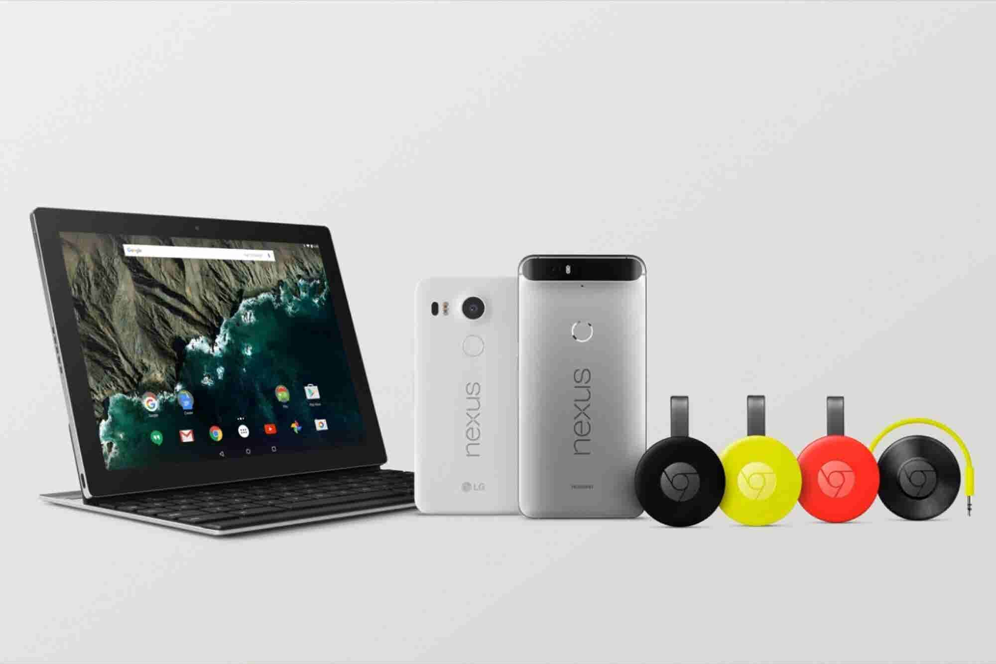 Google Announces Two New Phones and Android 6.0 Marshmallow Availability
