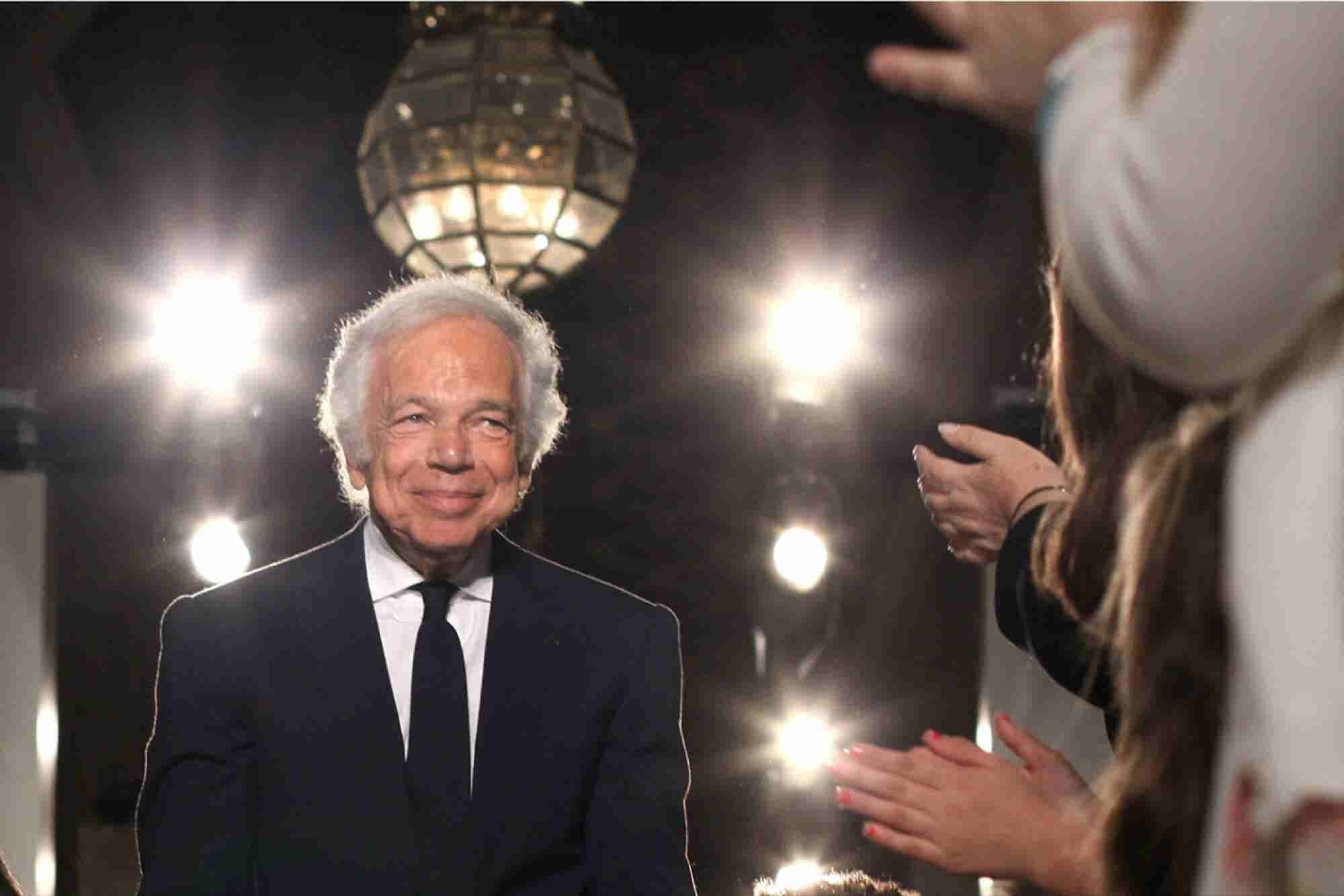 Ralph Lauren Is Stepping Down as CEO