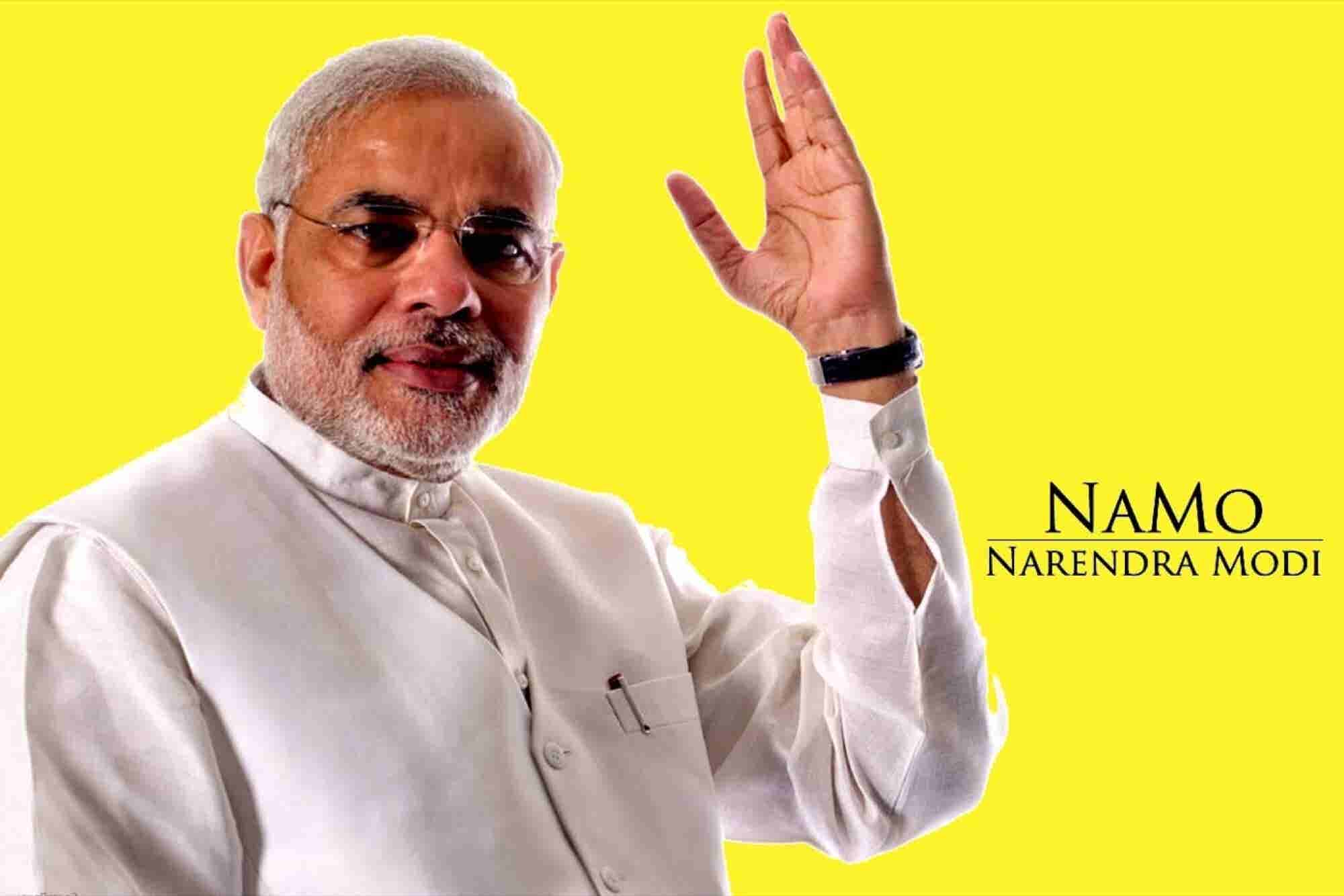 PM Modi Pays with FreeCharge!