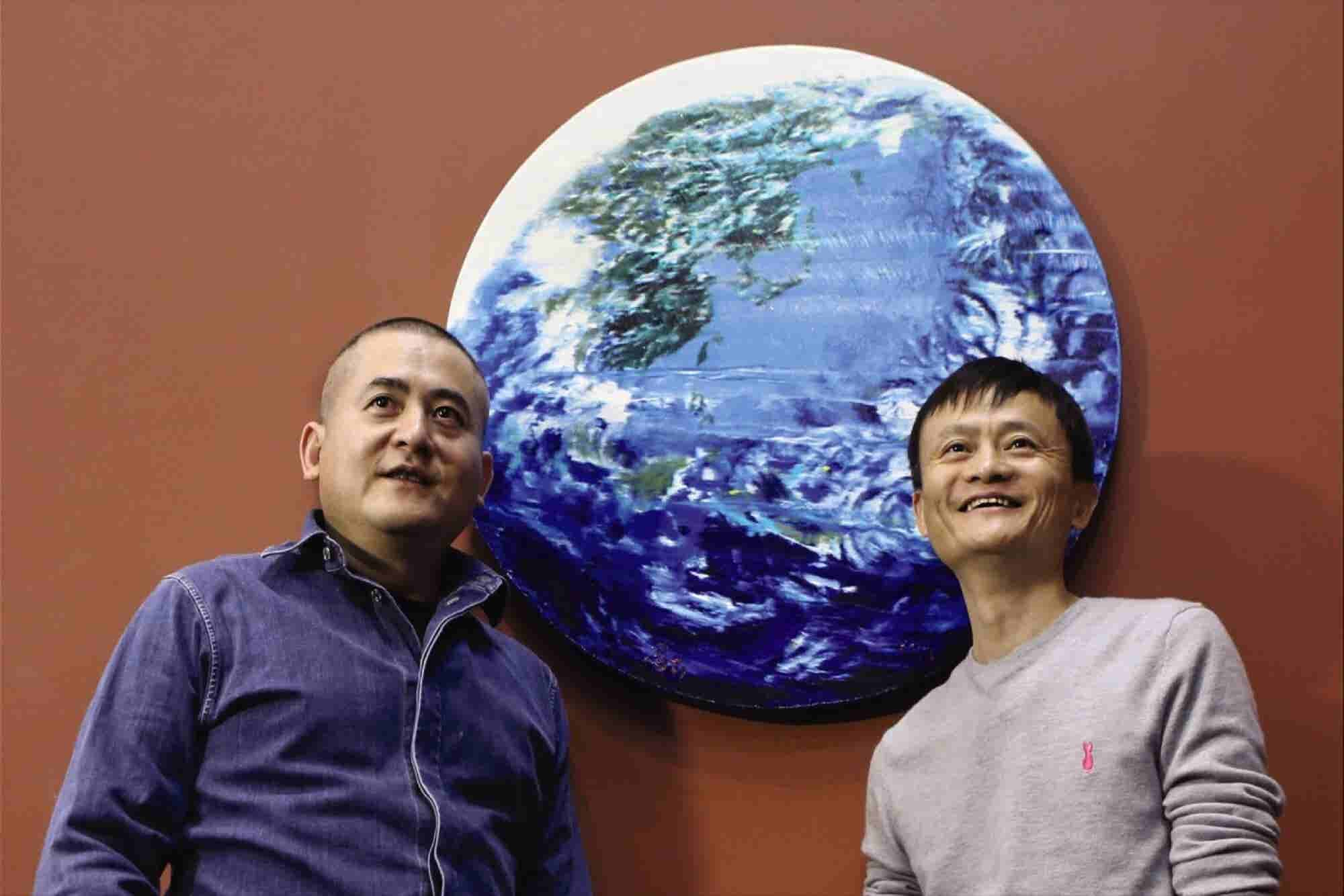 Painting By Alibaba's Unconventional Chairman Jack Ma Fetches $5.4 Mil...