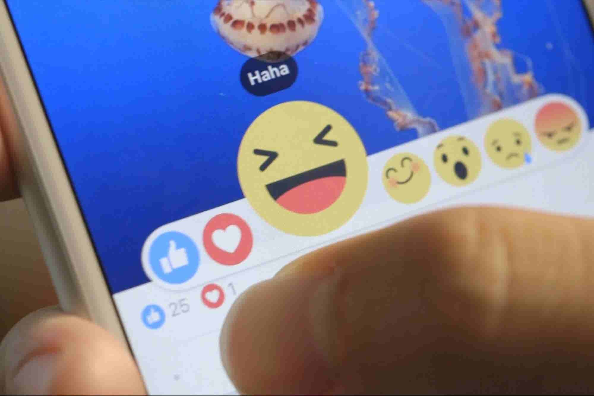 You 'Heart' Me, You Really 'Heart' Me! Those New Social Media Reaction Buttons and Emojis.